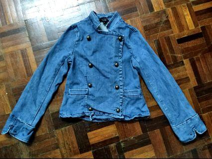 URGENT SALE Little Marc Jacobs denim military jacket #1111