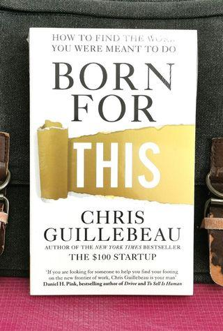 《BRAN-NEW PAPERBACK + Using The Art of Non-Conformity To Create Own Career You Really Want》Chris Guillebeau - BORN FOR THIS : How to Find the Work You Were Meant to Do
