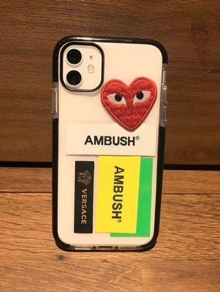 全新-I phone 11- DIY 標籤手機殼 3件組