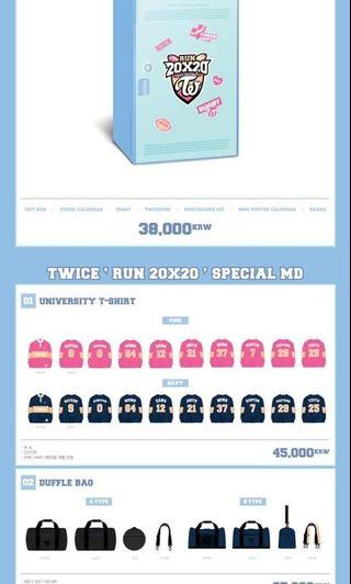 (PO) TWICE Seasons Greetings 2020 'Run 20x20'