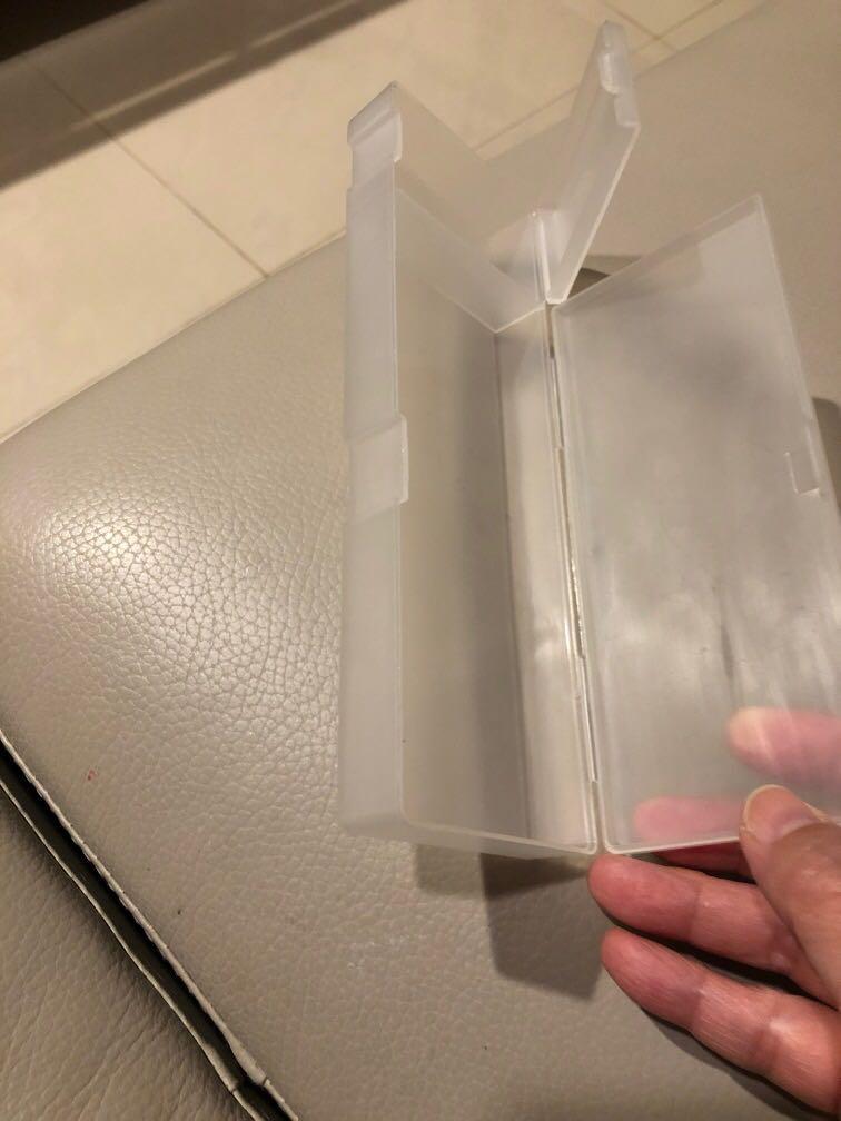 無印良品鉛筆盒塑膠