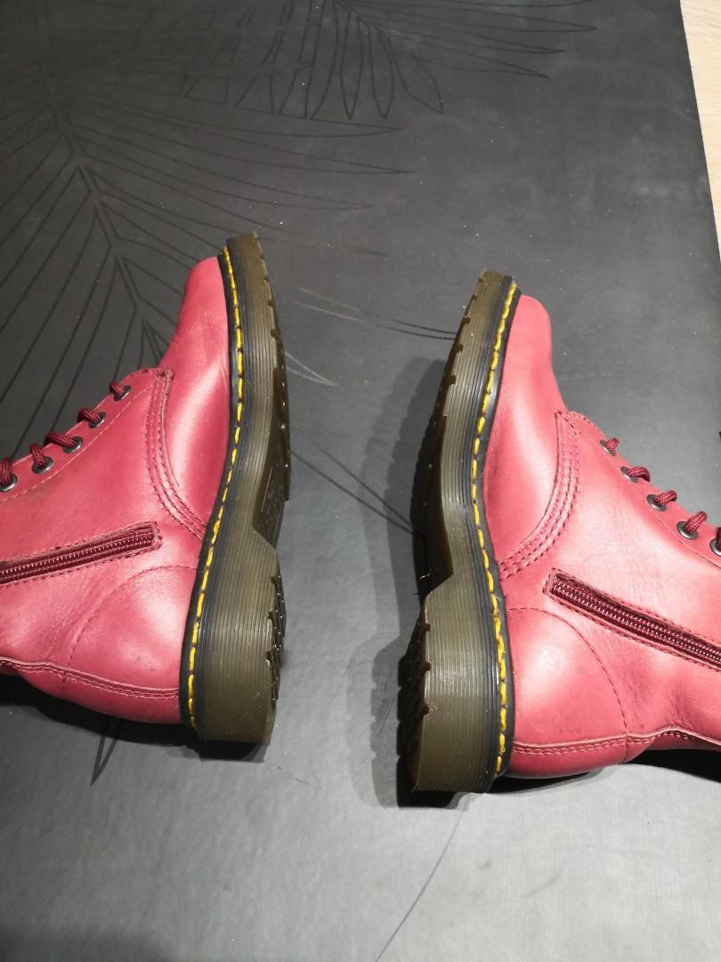 正品馬汀鞋-玫瑰雕花特別版