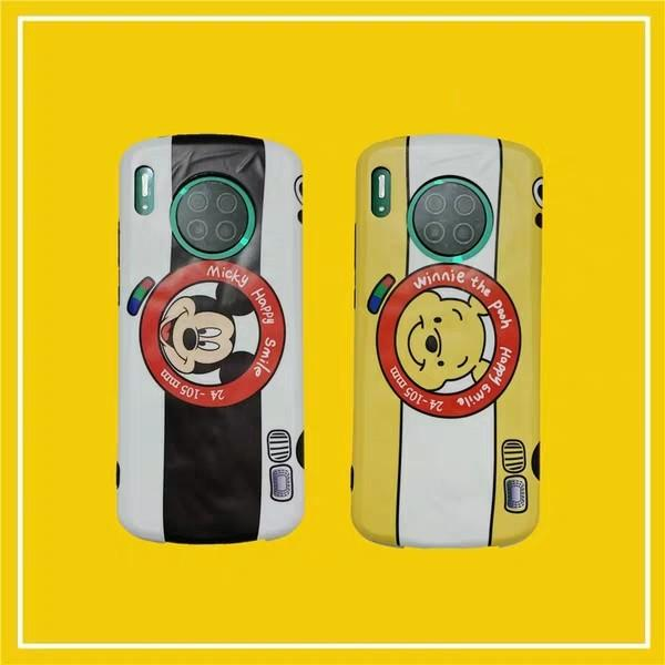 華為手機系列維尼/米奇相機款手機殼
