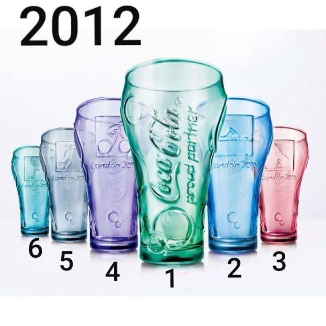 麥當勞 玻璃杯 2012 一組六個