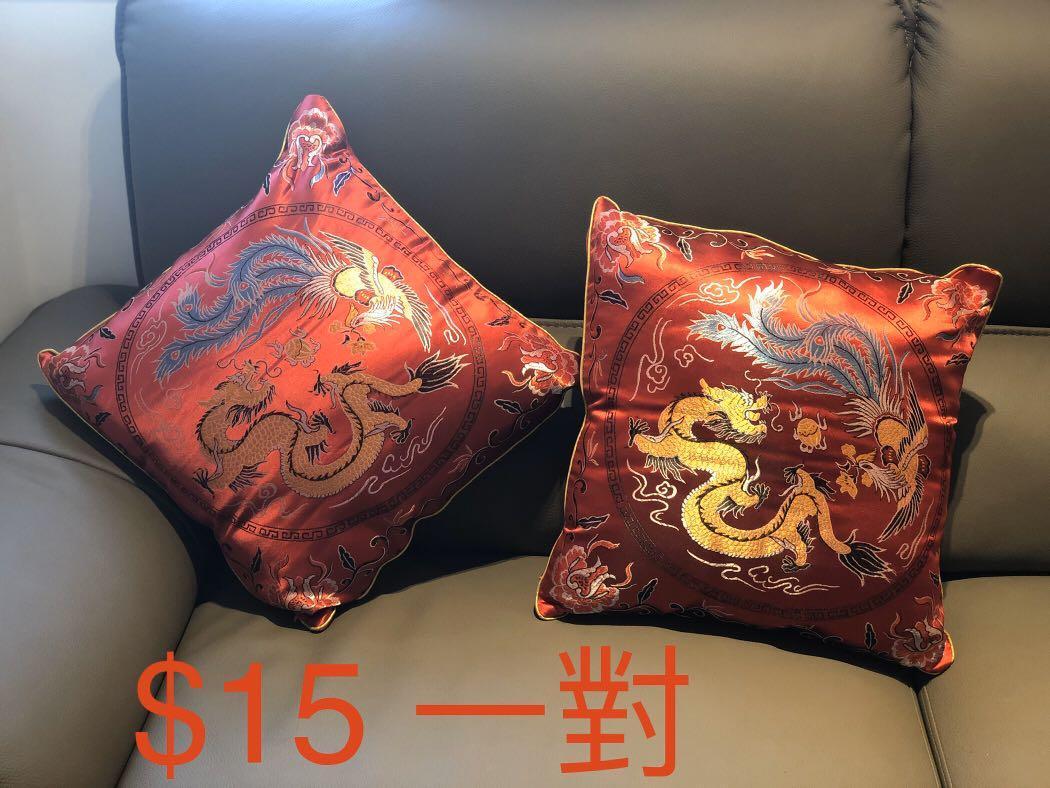 結婚 紅 跪墊 Wedding red Cushions 婚後物資