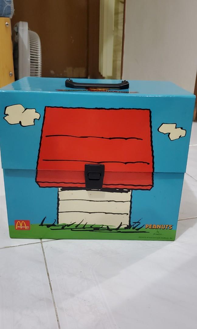 麥當勞 Snoopy World Tour Collector's Kit 1998