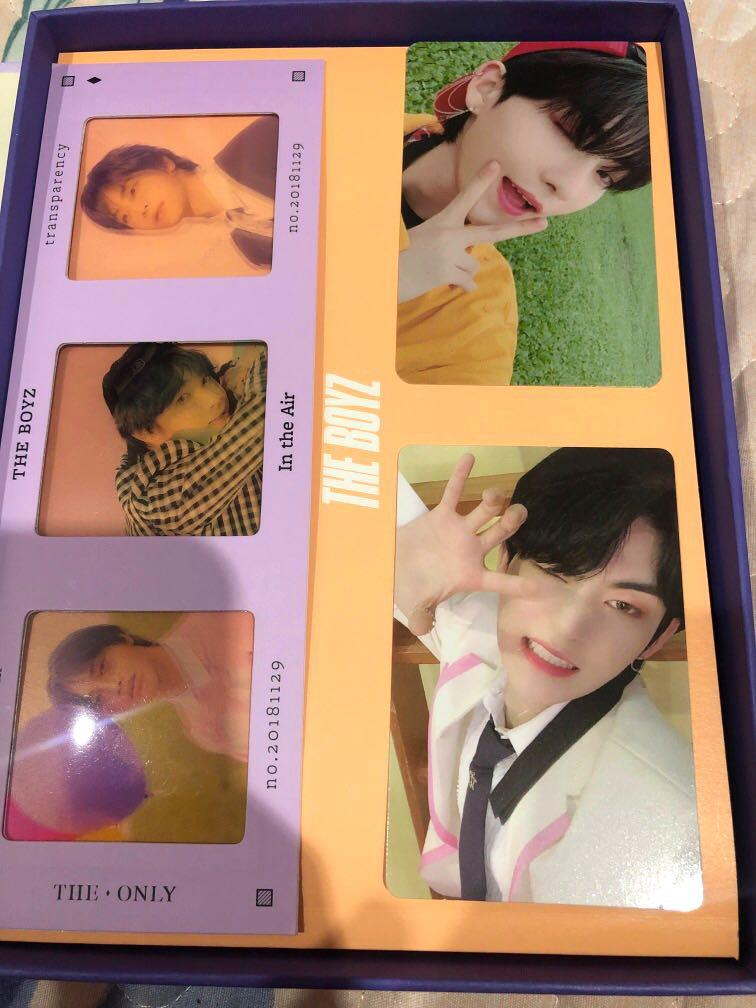 ( WTT ) HWALL PHOTOCARDS AND  HAKNYEON IN THE AIR FILM