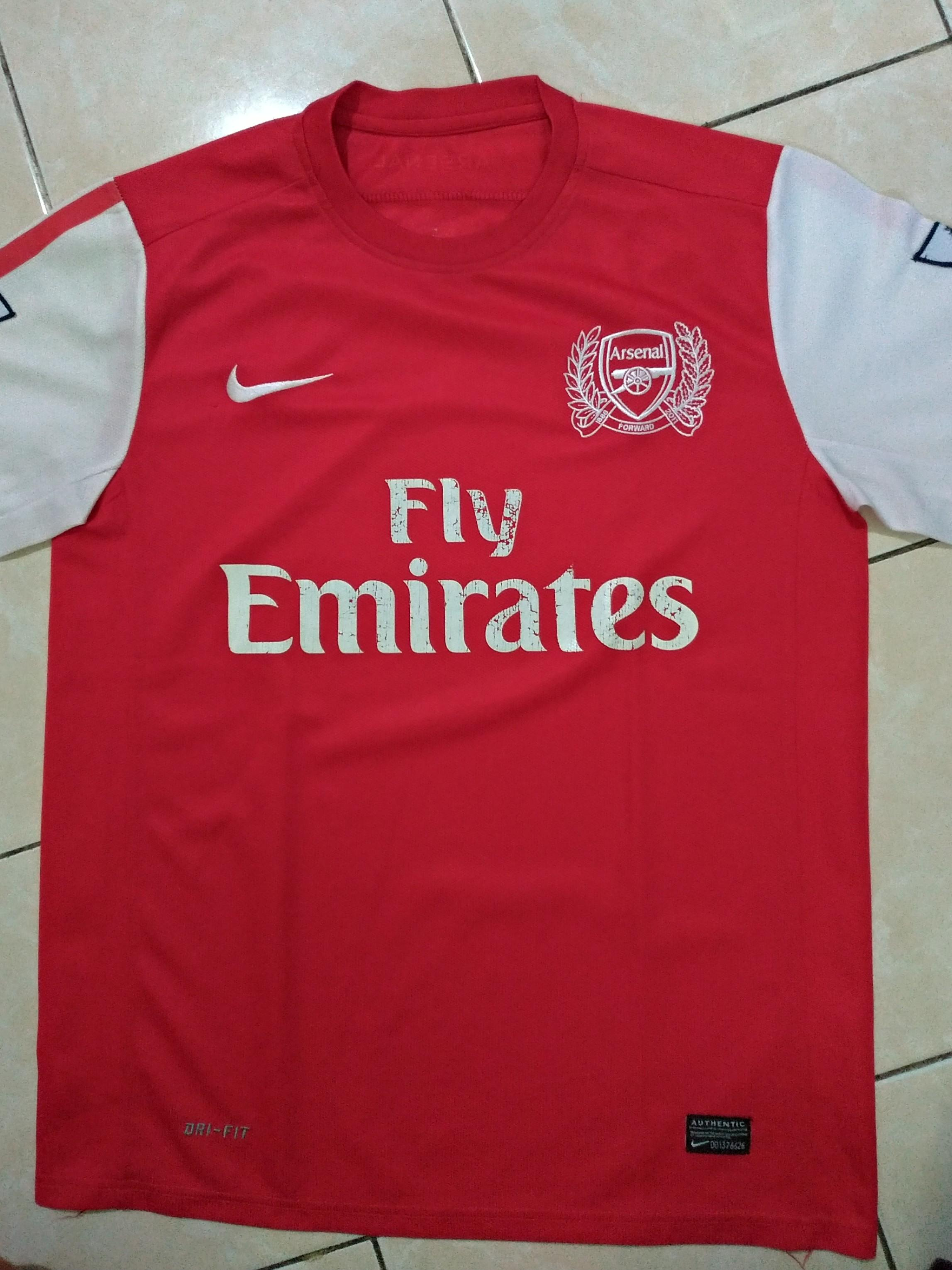 Arsenal jersey 2012/2013 home