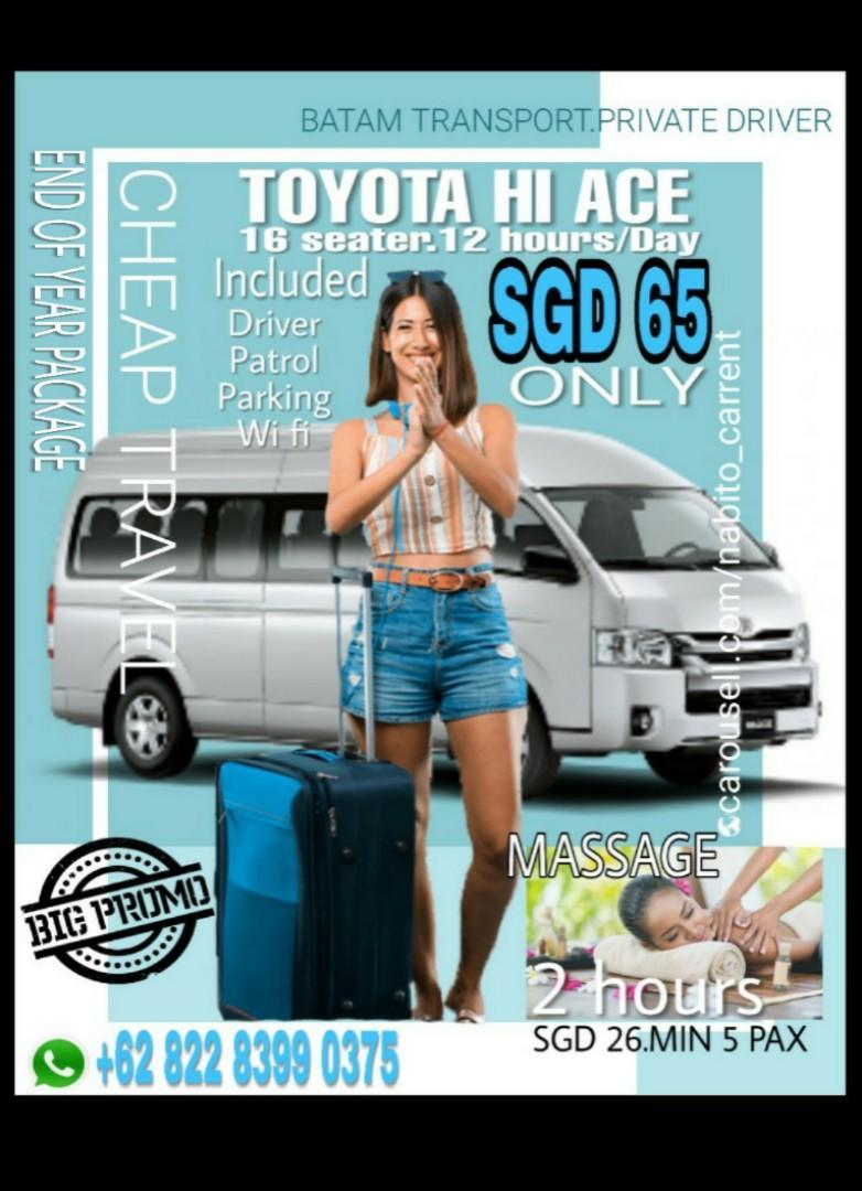 Batam cheap travel.transport.private driver https://wa.me/6282283990375