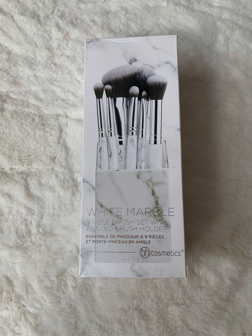 Bh cosmetics white marble set