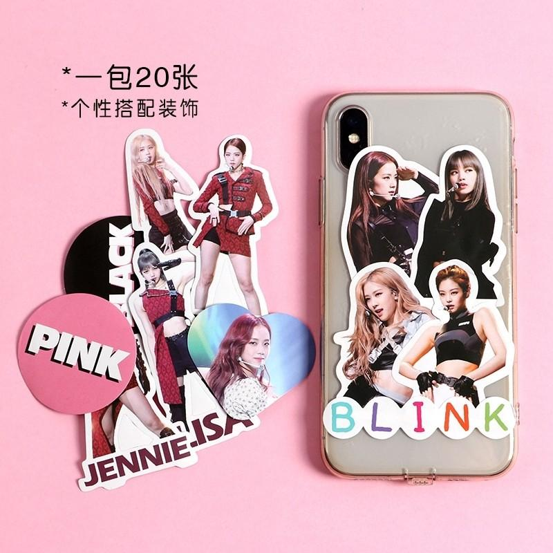 Blackpink 20pcs kpop star stickers DIY scrapbooking