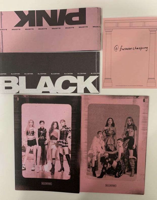 Blackpink kill this love official album