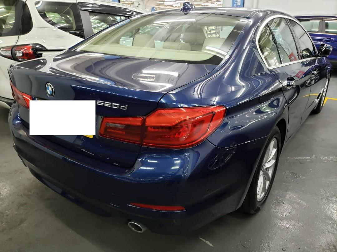 BMW 520d(1997cc) 2018