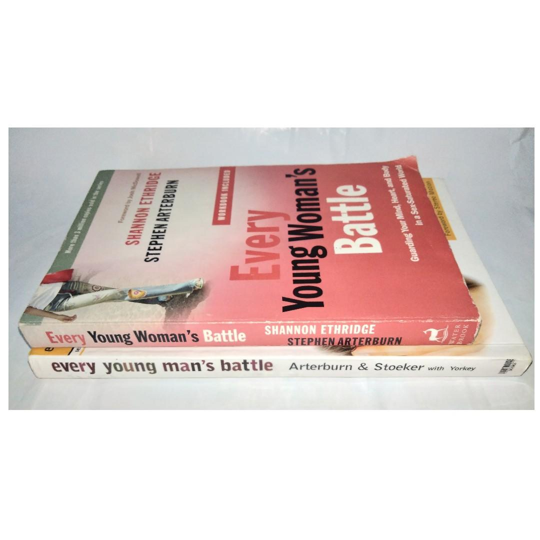 Book Bundle 2: Every Young Man's Battle / Every Young Woman's Battle [Stephen Arterburn, Shannon Ethridge, Fred Stoeker