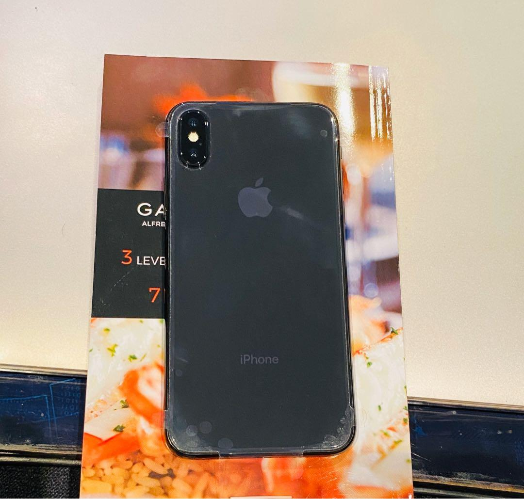 Brand New iPhone X 256 GB Unlocked SpaceGray-Full Warranty