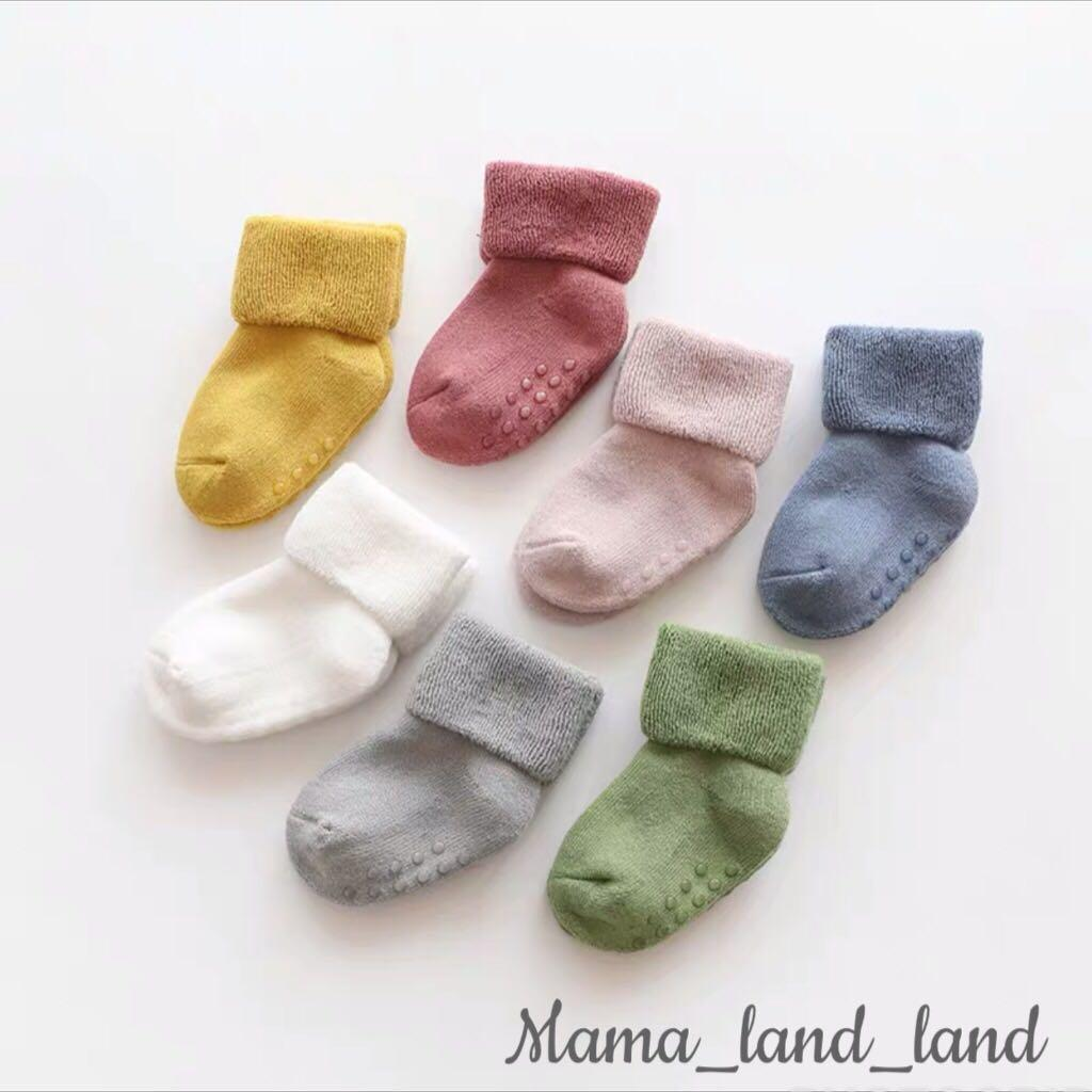 Candy colour baby cotton socks