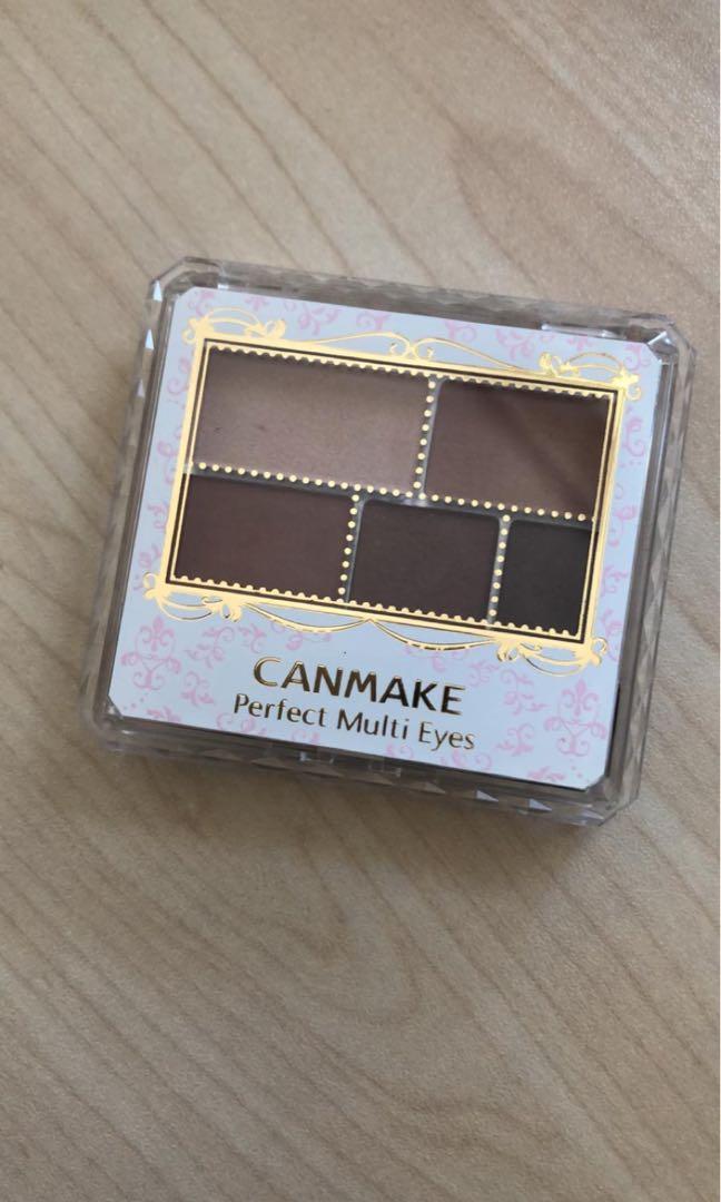 Canmake 五色眼影盤 #05 棕紅大地色