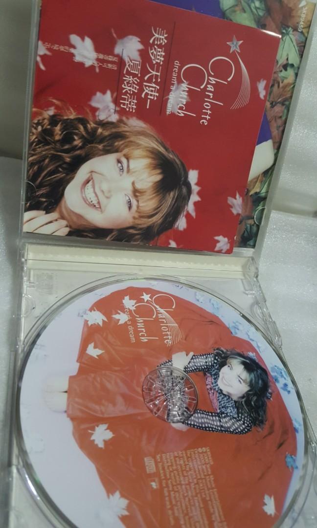 cd  Christmas Song Charlotte church english