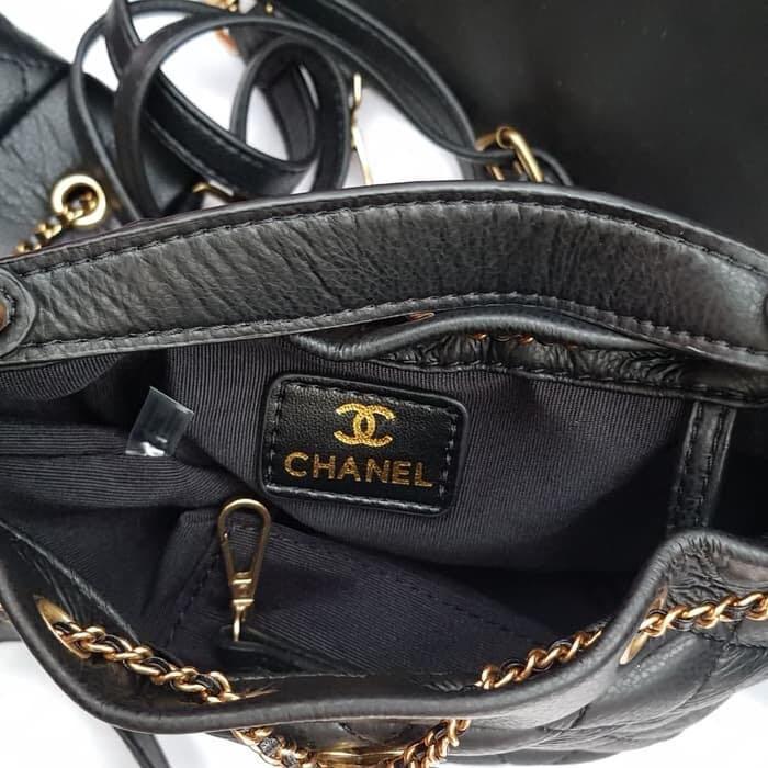 Chanel quilt drawstring vip gift