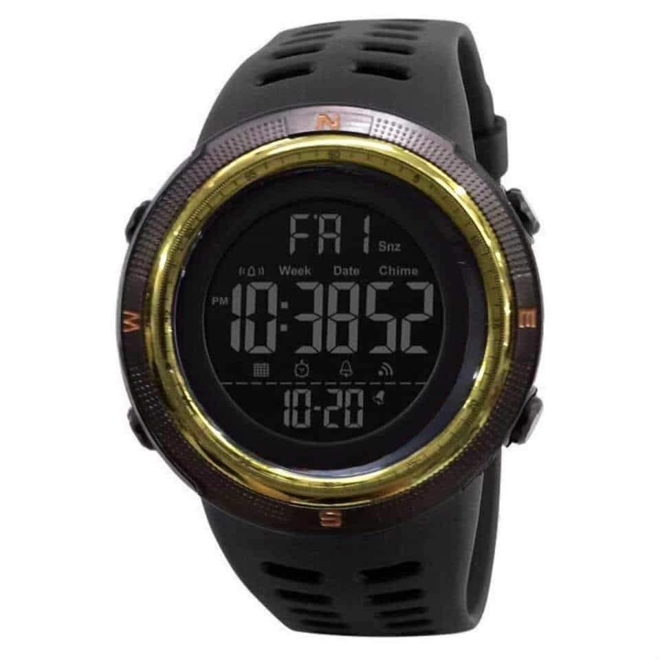 Digital Watch with Can
