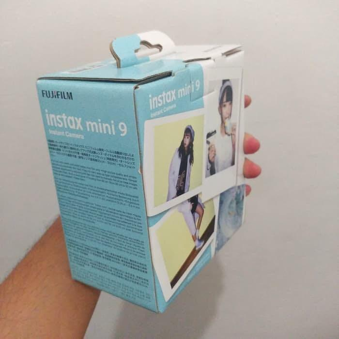 Fujifilm Instax Mini 9   ice blue   surabaya