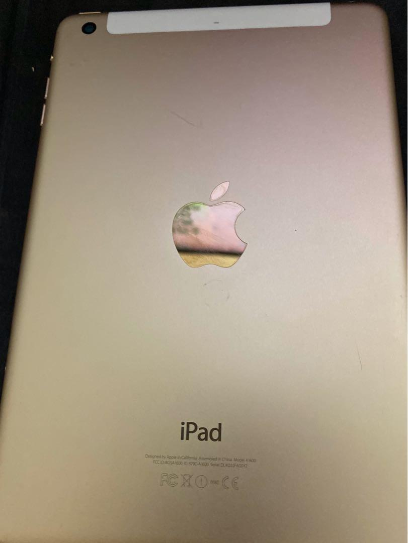 iPad mini 3 with 4G 16GB (可插sim card)
