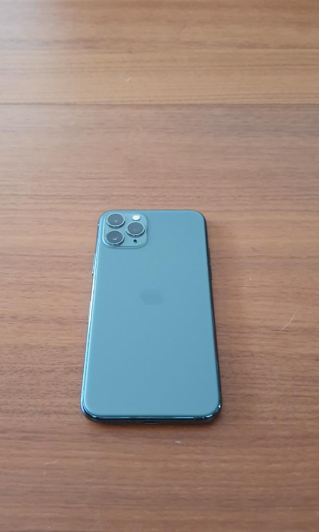 iPhone 11 pro 256 GB green Dual Physcial SIM