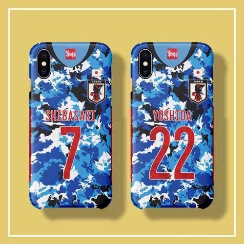 JAPAN日本國家隊波衫系列球員款iPhone/Android Phone Case i訂製款手機殼硬殼