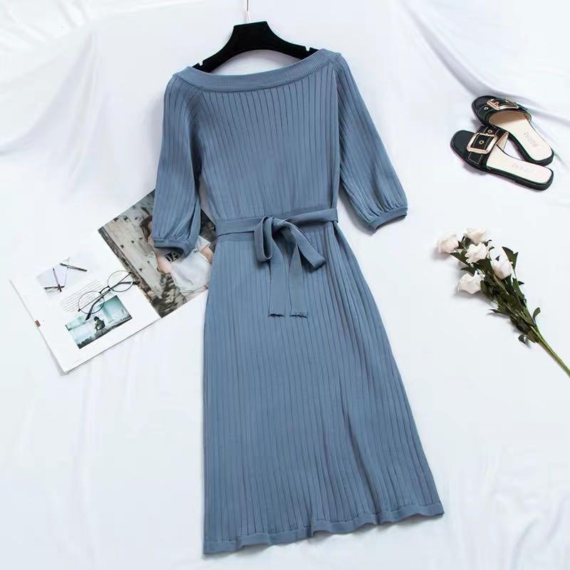 Jerys Mid Sleeves Knit Dress