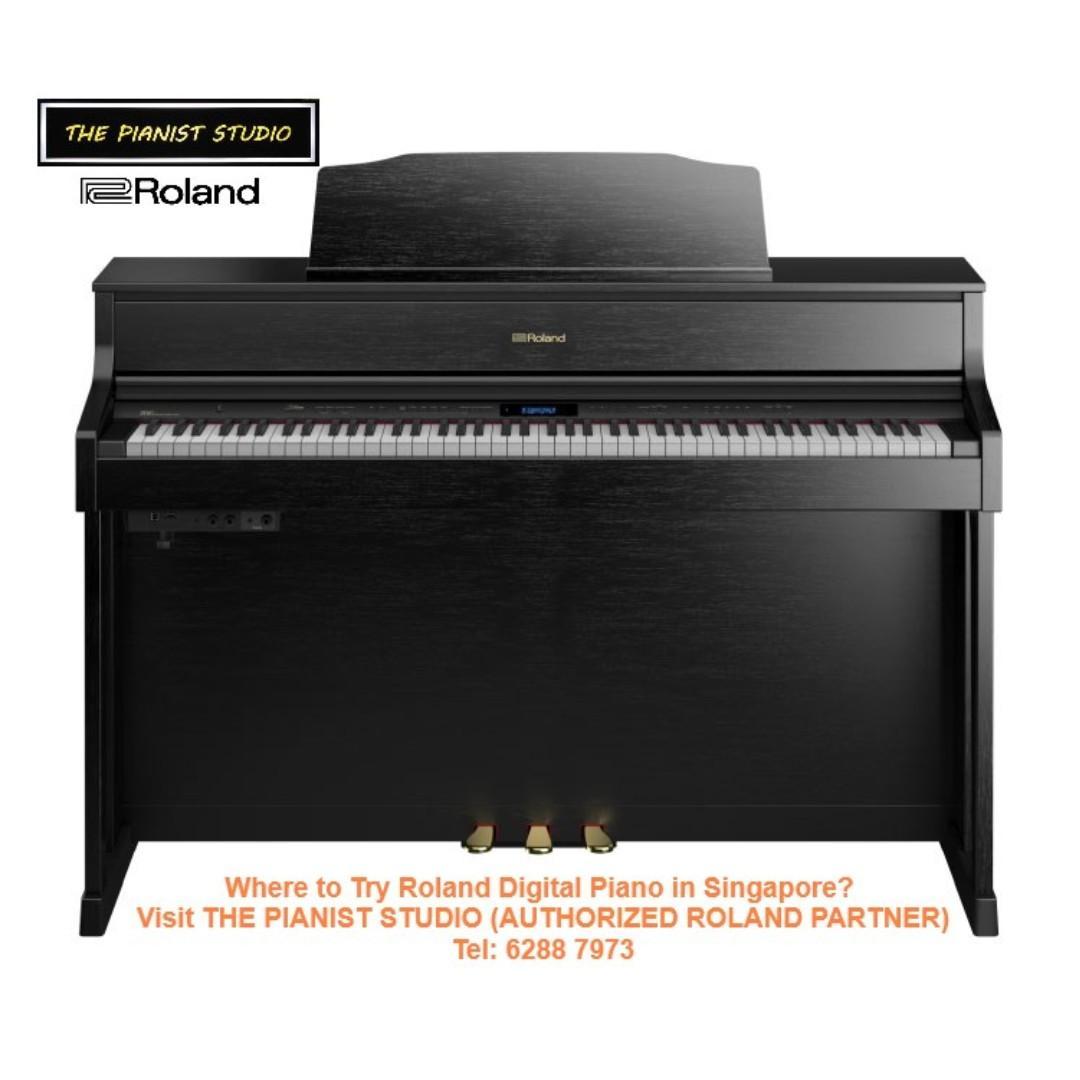 [Last Unit!] Roland Premium Upright Digital Piano HP605 Display Set Clearance