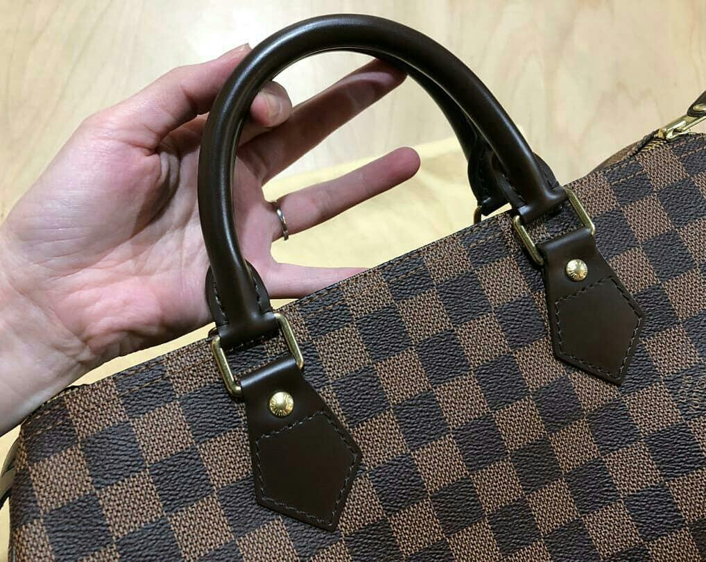LIKE NEW ! , EXCELLENT CONDITION - AUTHENTIC LV SPEEDY 30 - DAMIER - (RETAILS : RM 4950) -