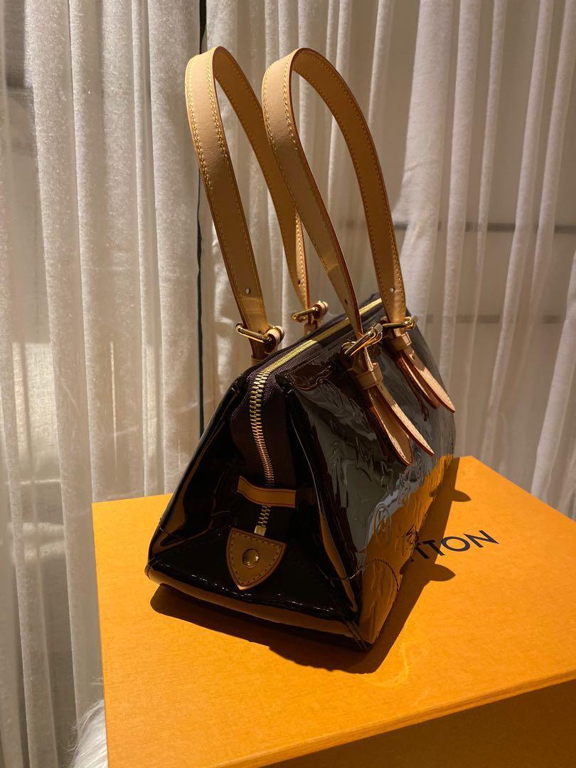 Louis Vuitton Amarante Monogram Vernis Rosewood Avenue