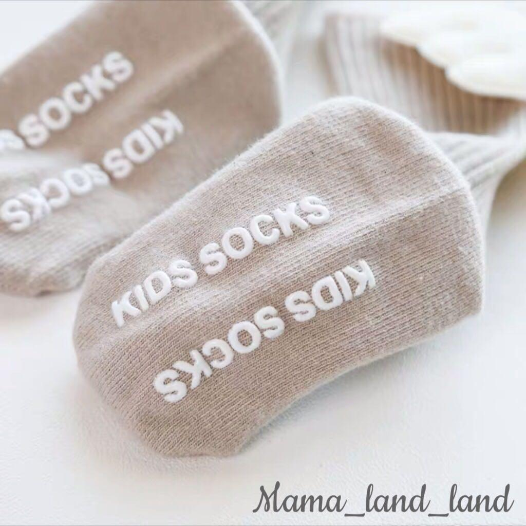 Lovely angel 👼 baby cotton long socks with swing