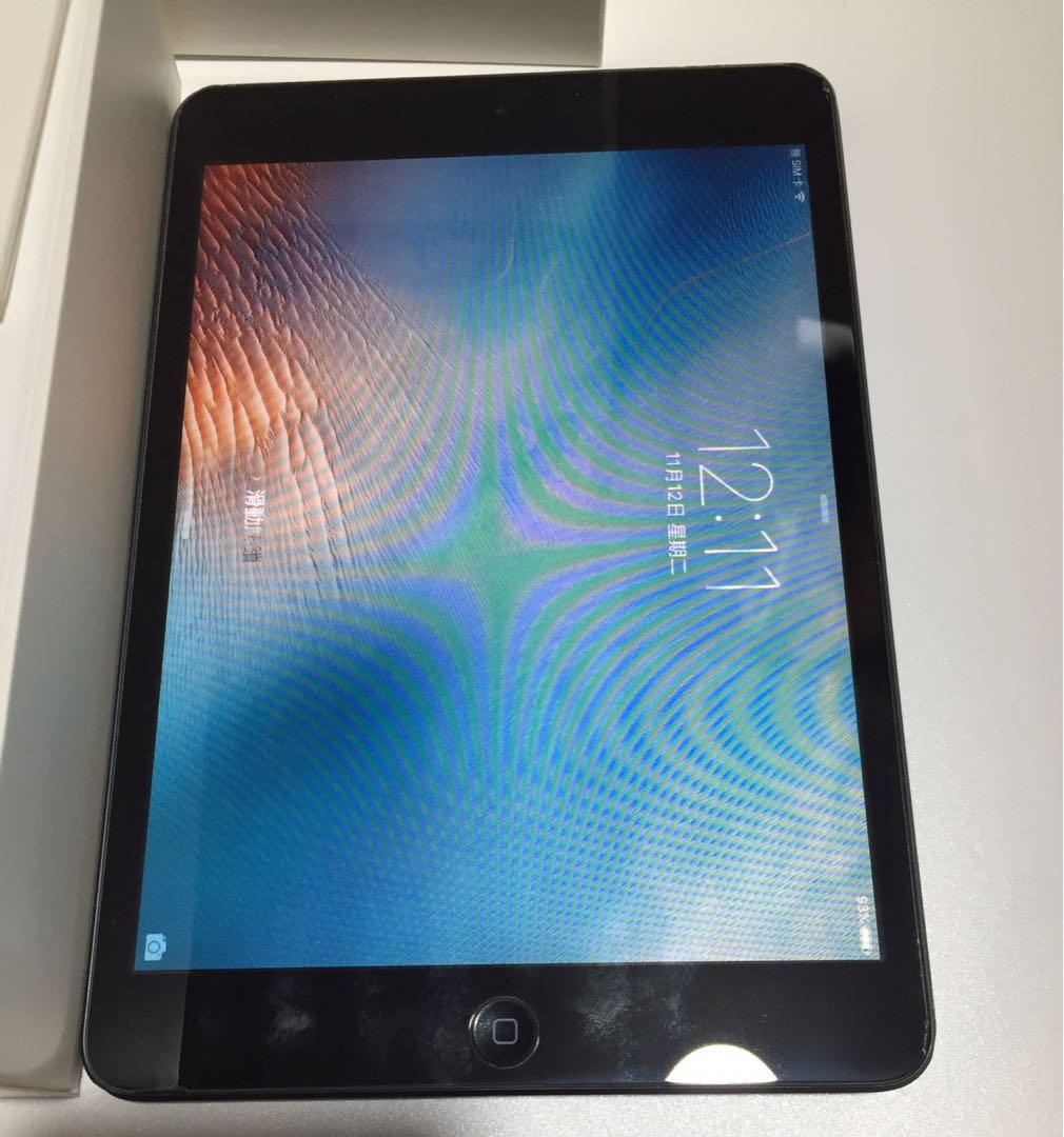MD540ZP/A iPad mini WiFi Cellular 16GB Black $550入數後順豐到付