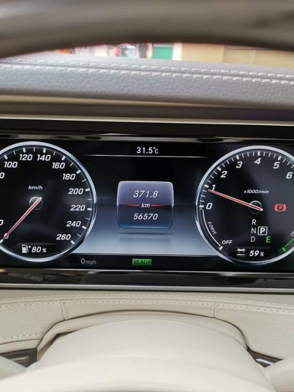 MERCEDES-BENZ 2015 S400 S400L HYBRID LOCAL WARRANTY