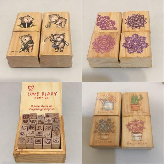Micia mini stamp 印章