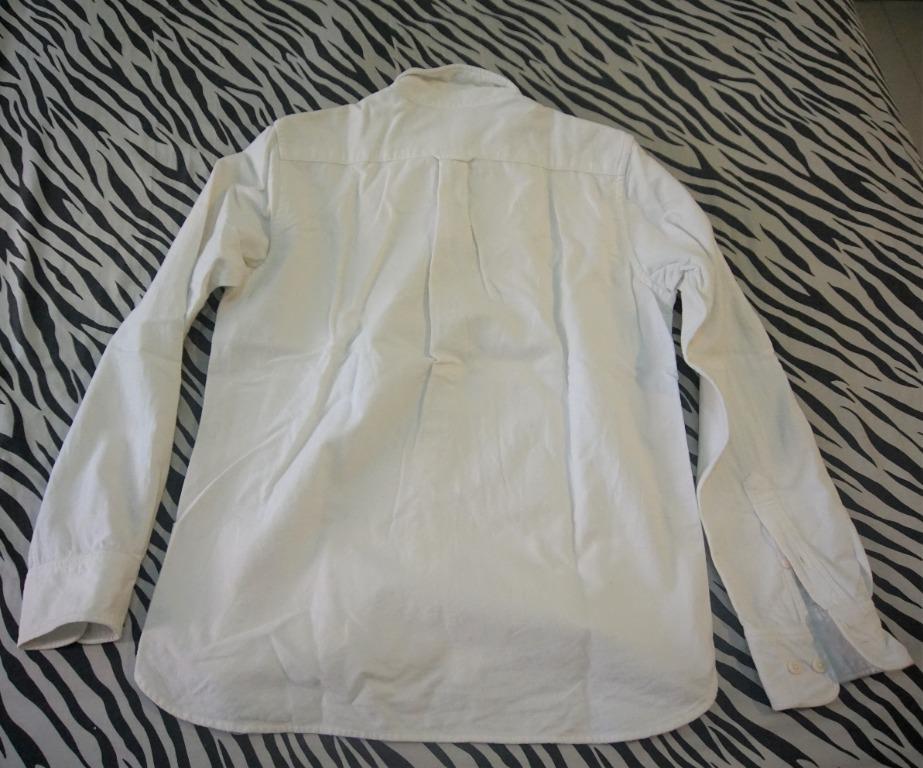 Muji Flannel Cotton Shirt Long Sleeve