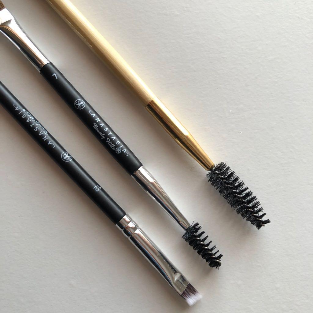 New Anastasia Beverly Hills #7 #12/Tarte Eyebrow Brush