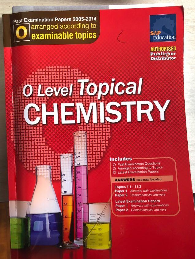 Olevel Chemistry Topical TYS