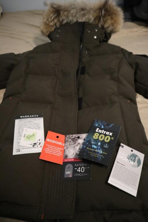Outdoor Survival Canada S Jacket Brand New Never Worn OSC Women