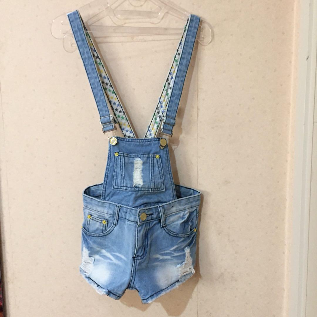 Overall Jeans / Celana Kodok Jeans #1111special