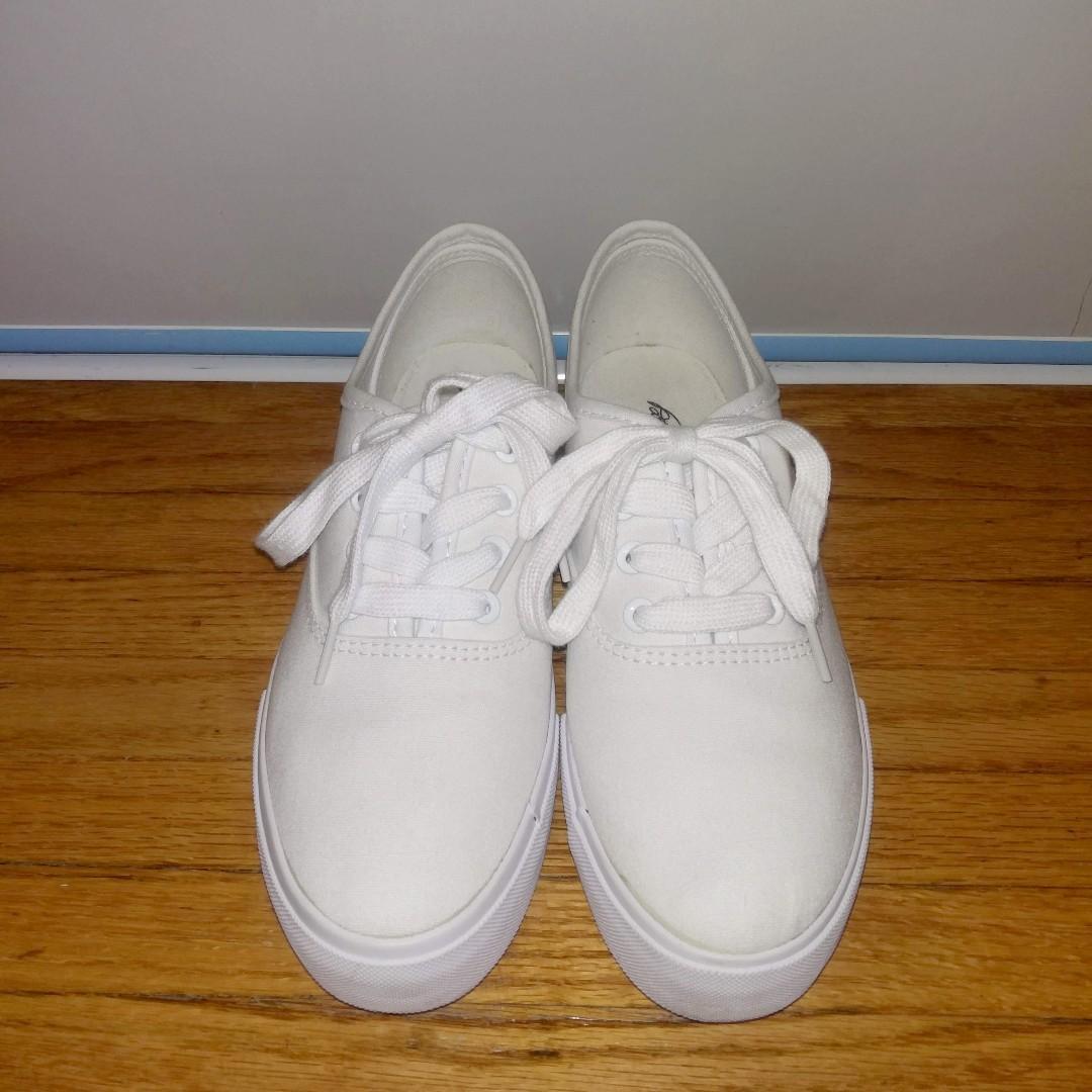 Park Lane Flatform Canvas Shoes - US 8/UK 6/EU 38.5
