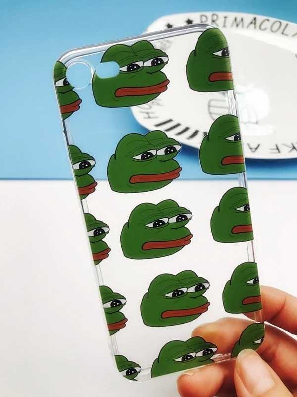 PEPE蛙透明手機殼軟殼iPhone/Android Phone Case