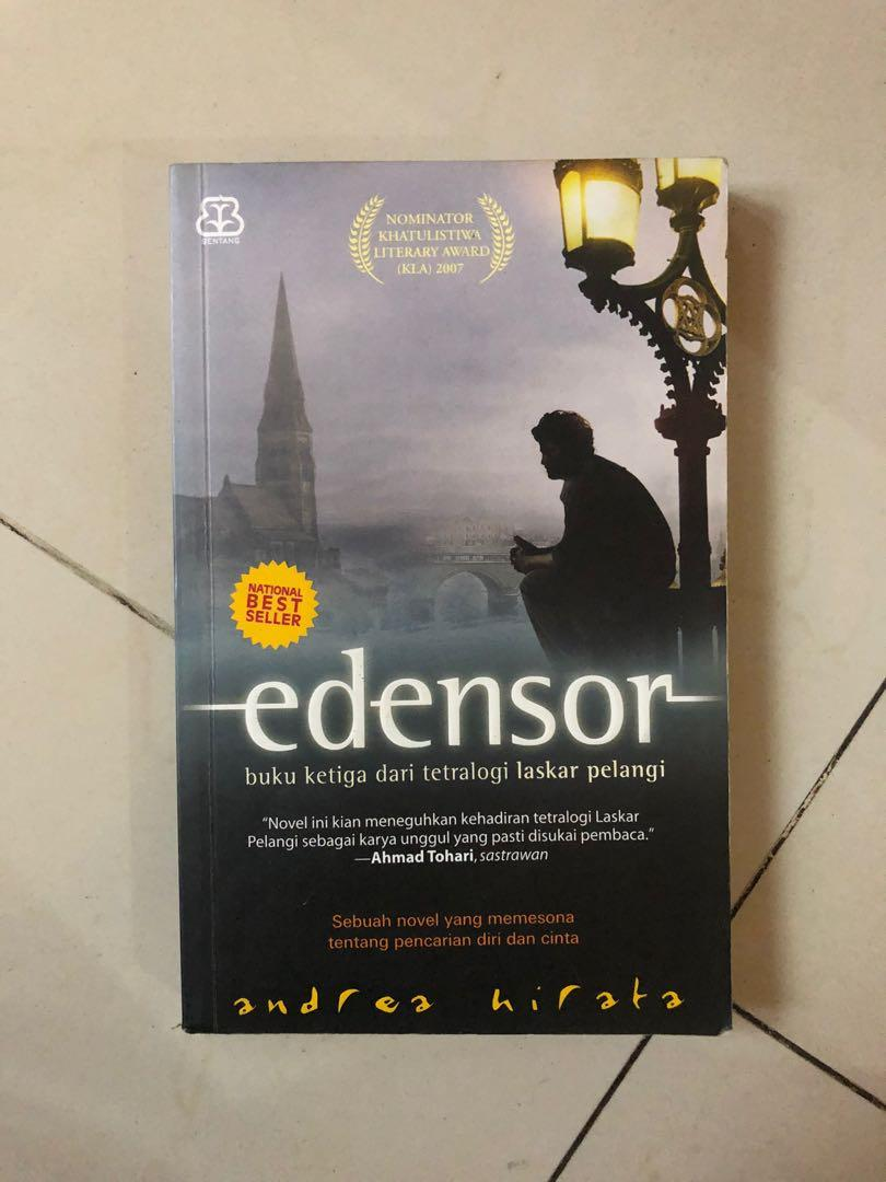 PRELOVED Edensor novel