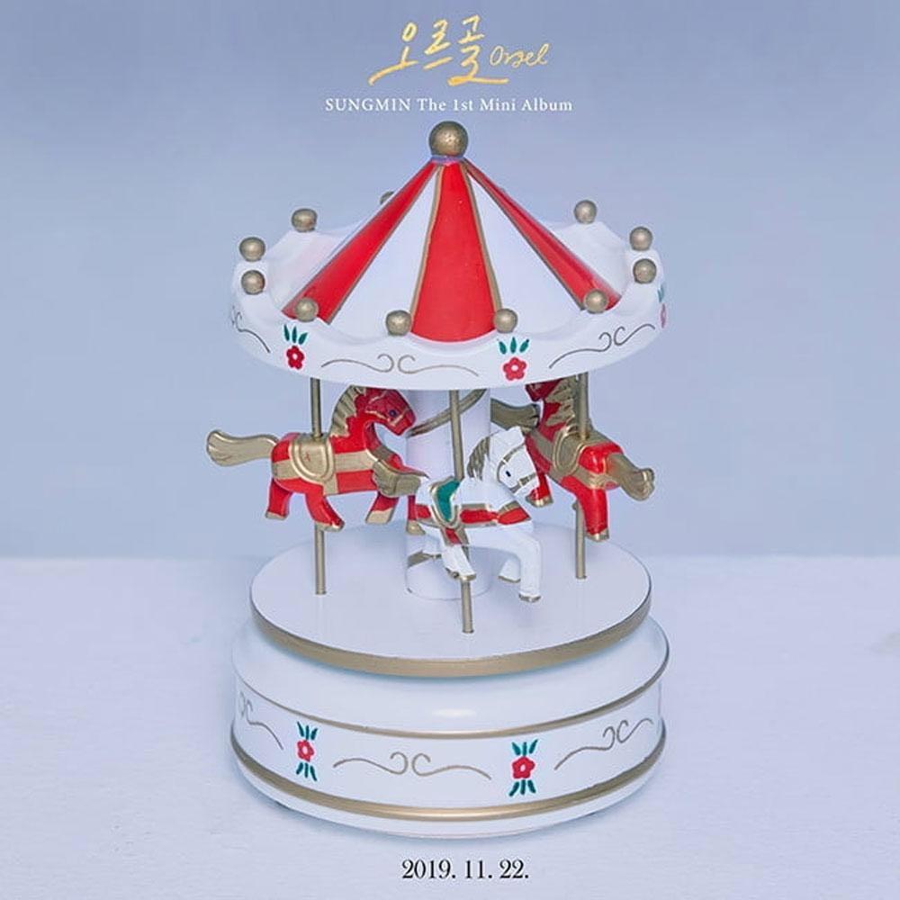 [PREORDER] SUNGMIN (Super Junior) 1st Mini Album - ORGEL