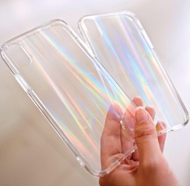 Rainbow case silicon softcase Iphone,oppo,xiaomi