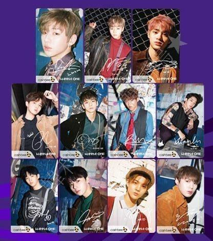 【READY STOCK】WANNA ONE Cashbee Transport Card OFiicial