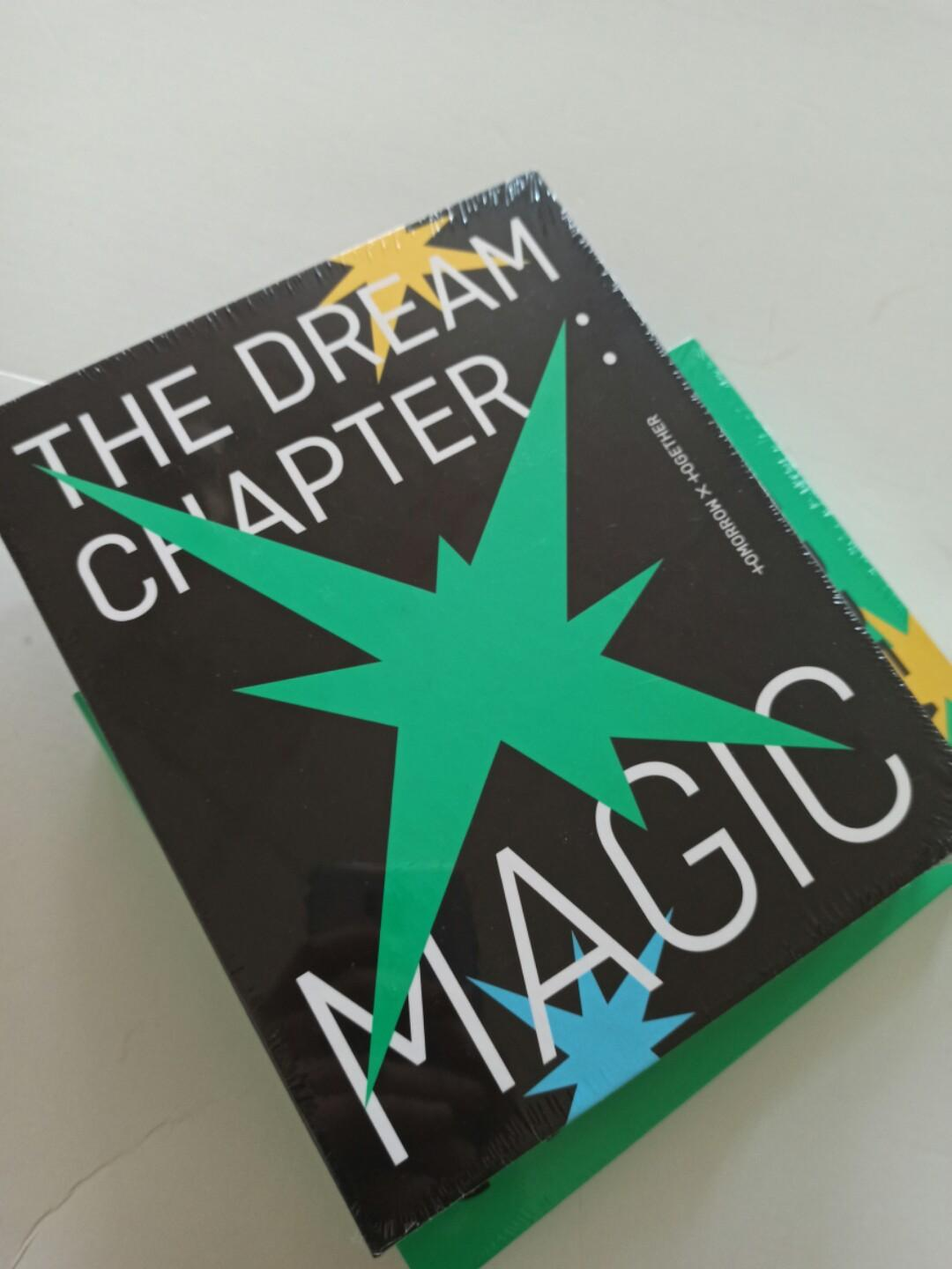 [READYSTOCK-SEALED] TXT(TOMORROW X TOGRTHER) - THE DREAM CHAPTER: MAGIC