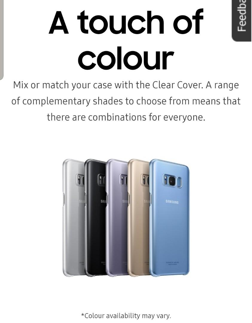 Buy 1 get 2 free! Samsung Galaxy S8 Ultra-Thin & Clear Cover
