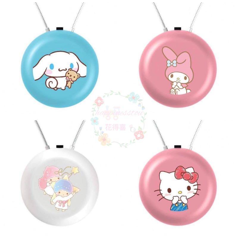 Sanrio Characters 全新負離子隨身空氣淨化器🎉  12款選擇